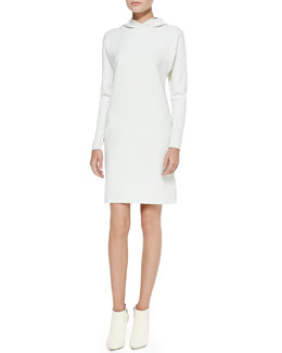 Ralph Lauren Collection Charisses Hooded Tunic Dress