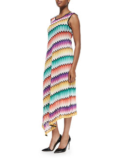 Missoni Degrade Zigzag-Knit Maxi Dress