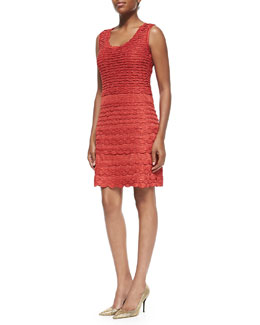 Missoni Solid Fish Scale Tank Dress