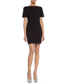 Gucci Black Stretch Viscose Dress
