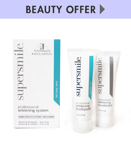 Supersmile Yours with Any $35 Supersmile Purchase