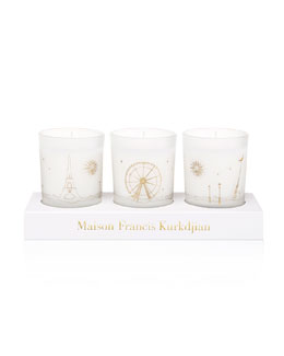 Three Scented Candles Set, 70g each