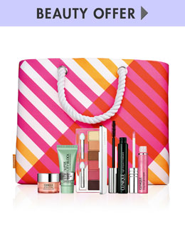Clinique Yours for $34.50 with any Clinique purchase