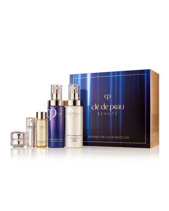 Cle de Peau BeauteAround the Clock Moisture Set