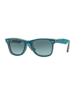 Ray-Ban Light Blue Denim Wayfarer Sunglasses