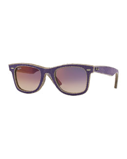 Ray-Ban Violet Denim Wayfarer Sunglasses