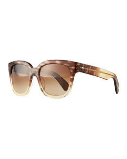 Oliver Peoples Brinley Square Sunglasses, Henna