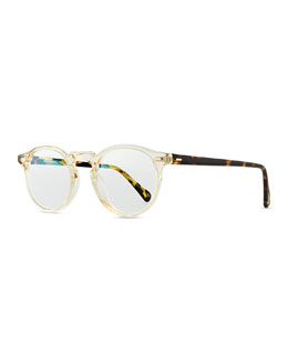 Oliver Peoples Gregory Peck Fashion Glasses, Clear