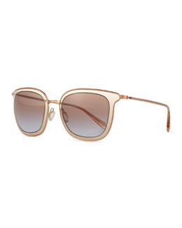 Oliver Peoples Annetta Butterfly Sunglasses