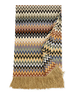 Missoni Home Fringed Throw
