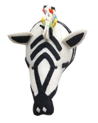 Rainbow Animal Head Wall Mount