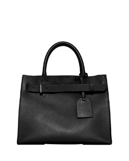 Reed Krakoff RK40 Medium Belted Leather Tote Bag, Black