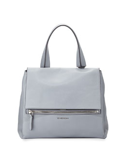 Givenchy Pandora Medium Waxy Calf Bag, Slate
