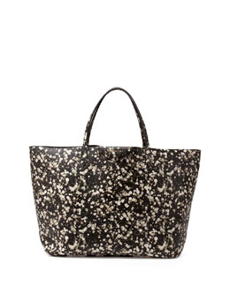 Givenchy Antigona Large Floral-Print Shopper Tote Bag