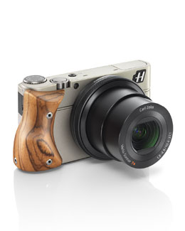 Stellar Camera with Zebra Wood Grip