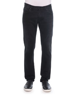 Dolce & Gabbana Relaxed-Fit Denim Jeans, Black
