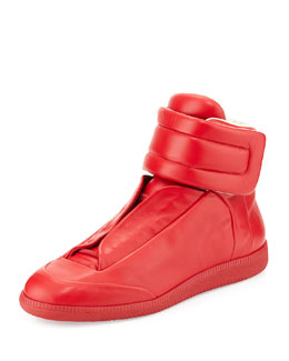 Maison Margiela Future High-Top Sneaker, Red