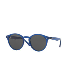 Ray-Ban Classic Round Sunglasses, Blue