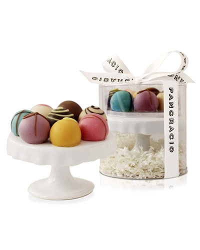 Mini Cake Stand with Truffles