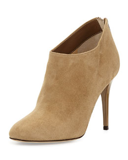 Jimmy Choo Mendez Suede Ankle Boot, Taupe
