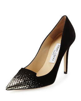 Jimmy Choo Avril Degrade Suede Pump