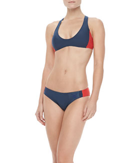 MARC by Marc Jacobs Classic Sporty Racerback Top & Swim Bottom