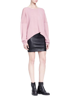 Helmut Lang Oversized Pullover W/ Dropped Sleeves
