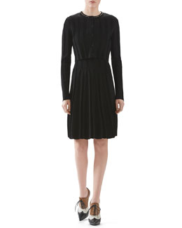 Gucci Viscose Stretch Knit Cardigan & Viscose Stretch Knit Dress