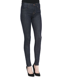 J Brand Jeans Jess Silence High-Rise Stack Skinny Jeans