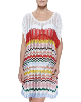 Missoni Wide-Stitch Knit Coverup