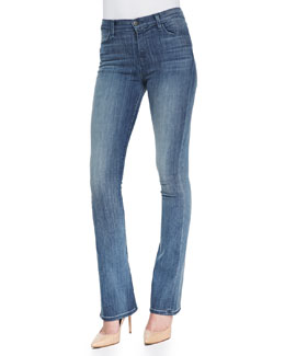 J Brand Jeans Remy Slim Boot-Cut Denim Jeans, Inspire