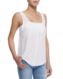 FRAME Le Scoop Knit Tank Top