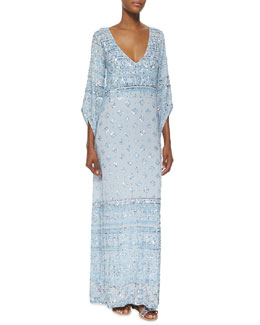 Calypso St. Barth Hajari Sequin Maxi Dress, Starlight