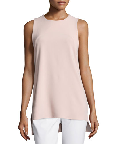 Parieom Admiral Crepe Sleeveless Top