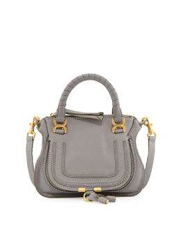 Chloe Marcie Mini Shoulder Bag, Gray