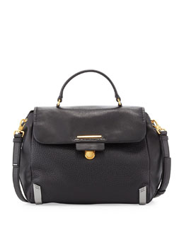 MARC by Marc Jacobs Sheltered Island Top-Handle Satchel, Black
