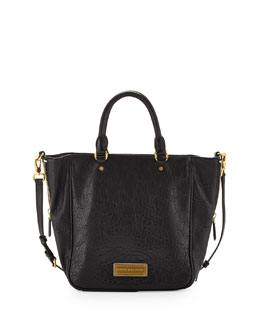 MARC by Marc Jacobs Washed Up Leather Tote Bag, Black