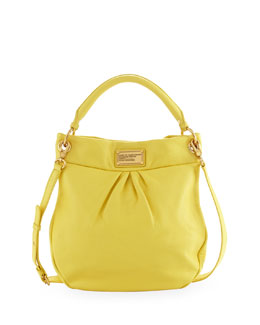 MARC by Marc Jacobs Classic Q Hillier Hobo Bag, Banana Creme