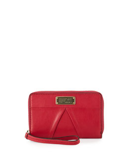 MARC by Marc Jacobs MARChive Mildred Wristlet Wallet, Raspberries