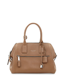 Marc Jacobs Incognito Medium Satchel Bag, Tan