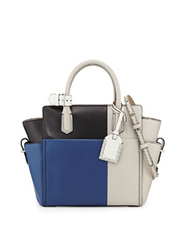 Reed Krakoff Atlantique Mini Tote Bag, Blue Multi