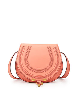 Chloe Marcie Small Crossbody Bag, Coral
