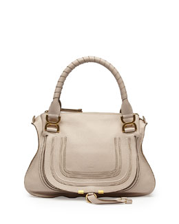 Chloe Marcie Medium Shoulder Bag, Cream