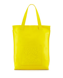 Loewe North-South Shopper Bag, Yellow