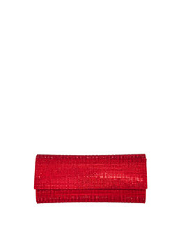 Judith Leiber Couture Ritz Fizz Crystal Clutch Bag, Siam