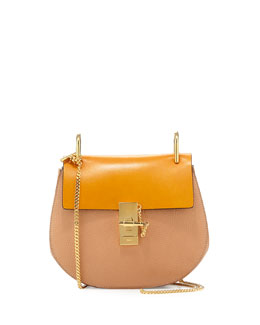 Chloe Drew Small Chain Shoulder Bag, Sand