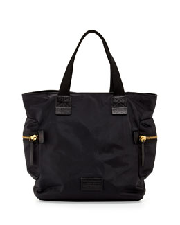 MARC by Marc Jacobs Domo Arigato Nylon Tote Bag, Black