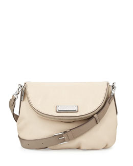MARC by Marc Jacobs New Q Natasha Crossbody Bag, Light Sand