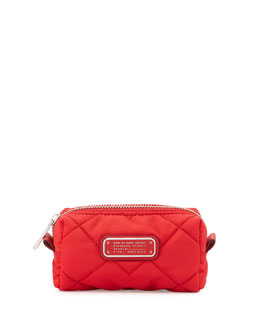 MARC by Marc Jacobs Crosby Quilted Small Cosmetics bag, Red