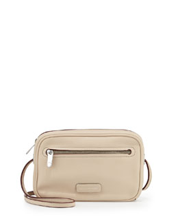 MARC by Marc Jacobs Sally Leather Crossbody Bag, Light Sand